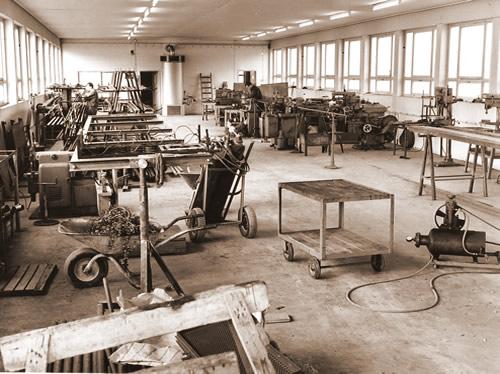 Schairer Metallverarbeitung - die Anfänge